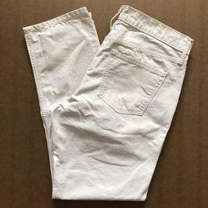 OLD NAVY Slim Detroit Pants! Stone/Off White 32x30